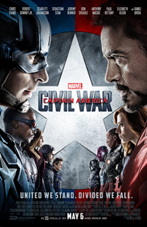 Película Capitán América. Civil War, de Anthony y Joe Russo - Cine de Escritor