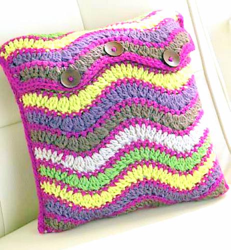 decorative pillow crochet pattern
