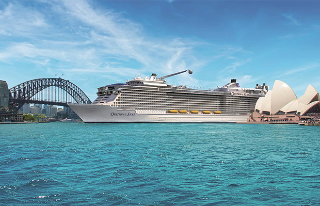 Four Royal Caribbean Ships Return to Sydney in 2017-2018