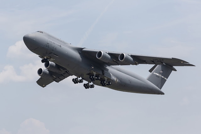 C-5M SUPER GALAXY MAKES EMERGENCY LANDING