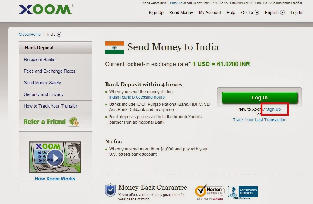 Images of Xoom Money Transfer Phone Number - #rock-cafe