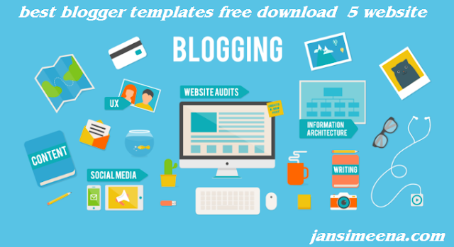 Blogger Template Download Karne Ke Liye