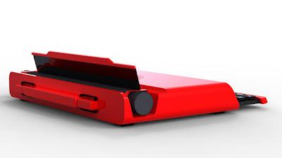 Elegante concepto de computadora portátil.
