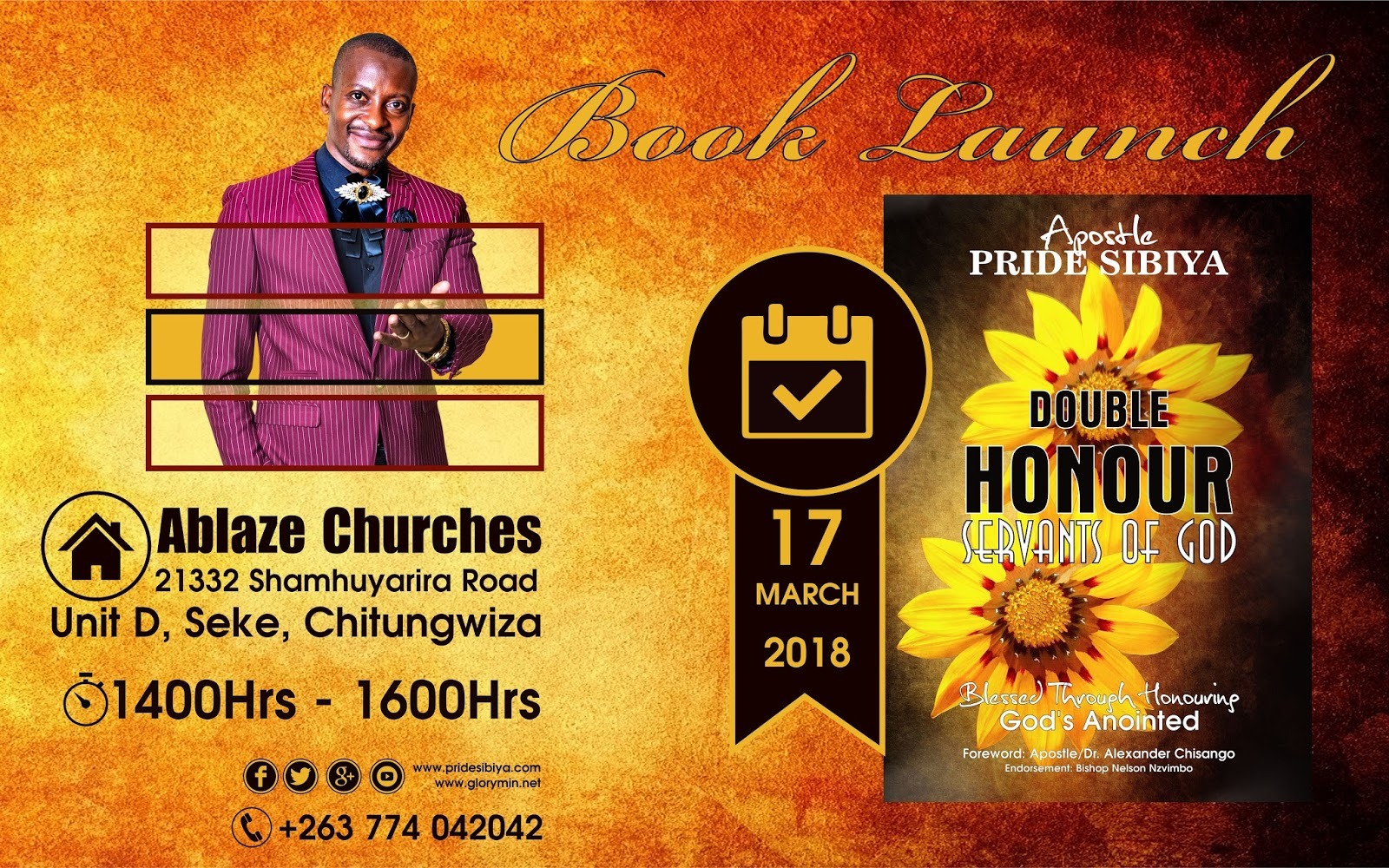 Double Honour Servants of God By Apostle P. Sibiya