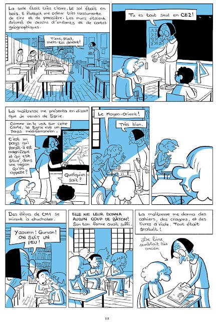 L'arabe du futur tome 3 page 111 chez Allary Editions