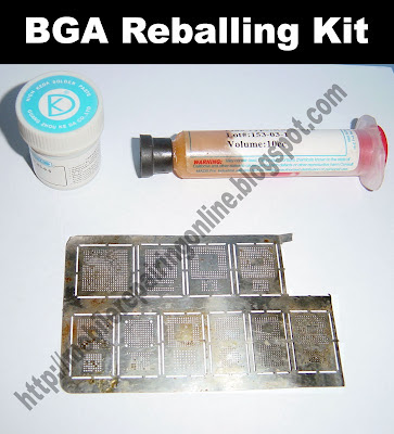 bga reballing kit method read the information to know more