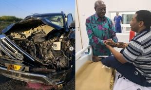 Maneno ya Mwigulu Nchemba aliporuhusiwa hospitali