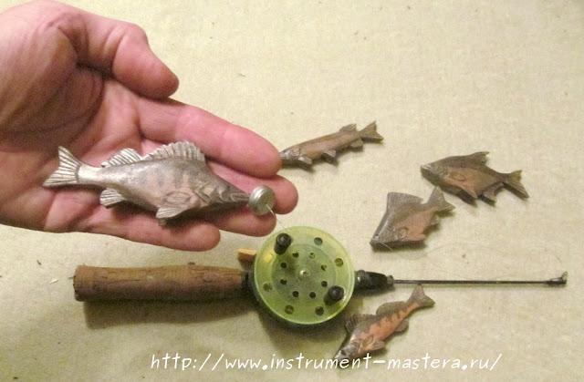 подарок для ребенка - будущего рыбака
