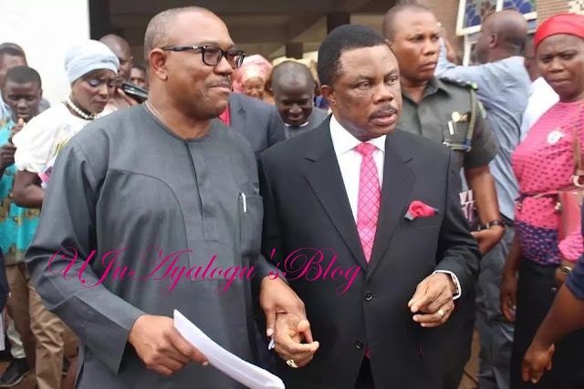 Anambra governorship election: Peter Obi attacks Obiano again