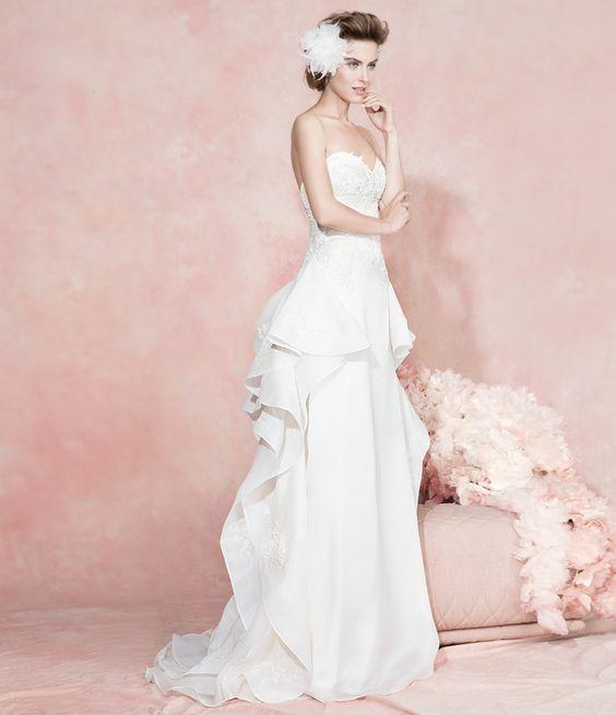 LA MODA ME ENAMORA : 10 vestidos de novia realmente fabulosos