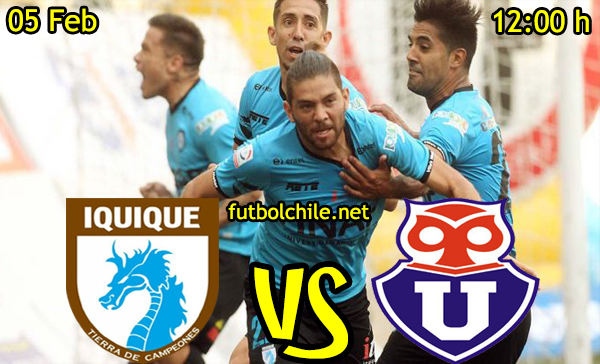 Ver stream hd youtube facebook movil android ios iphone table ipad windows mac linux resultado en vivo, online: Deportes Iquique vs Universidad de Chile