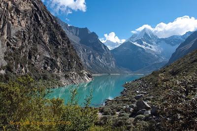 Trekking Laguna Paron, Cordillera Blanca, Peru