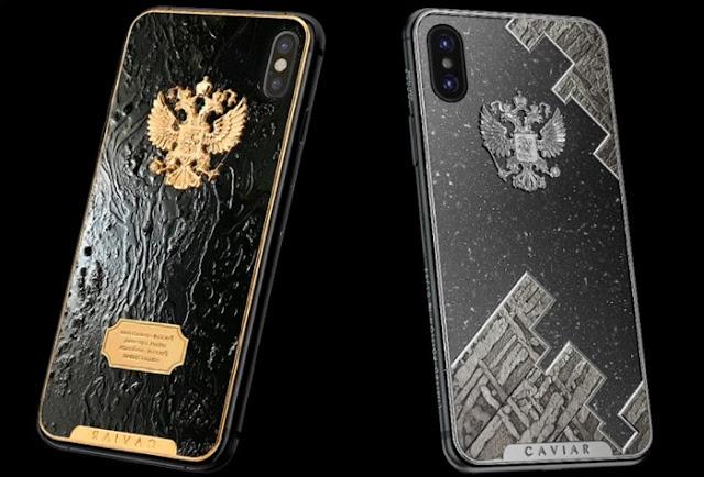 Edição especial do iPhone X com carcaça feita de meteorito custa R$ 14,5 mil.