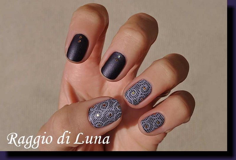 Raggio di Luna Nails: Stamping plate BP-L045 - Light ...