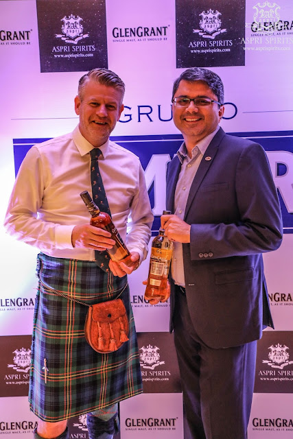 Aspri Spirits launched the Most Awarded Single Malt – Glen Grant 10YR and 18YR at Miami, JW Marriott.