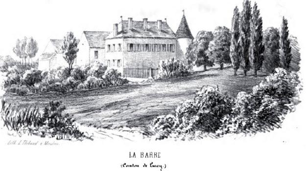 Patrimoine de l'Allier: château de la Barre