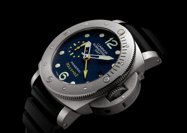 Officine panerai luminor submersible 1950 3 days gmt - Panerai dive watch ...