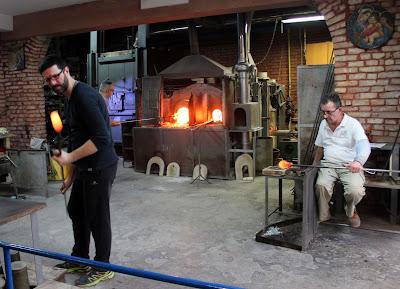 Murano. Fábricas de cristal de Murano. Qué ver en Murano. Artesanos del vidrio de Murano