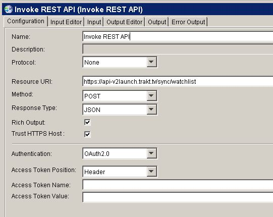 Invoking a OAuth2 REST API with the TIBCO BusinessWorks 5 x
