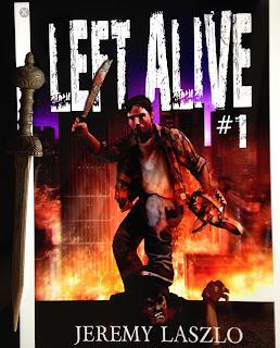 Portada del libro Left Alive, de Jeremy Laszlo