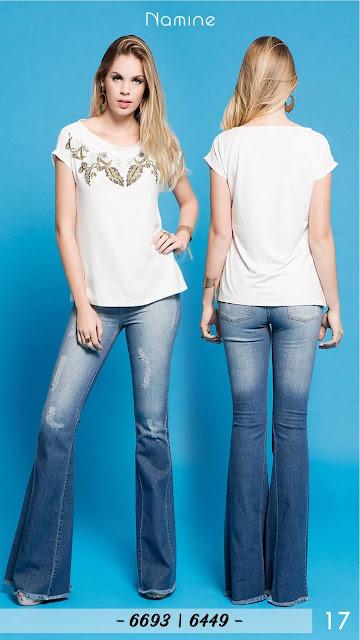 Atacadista de jeans feminino