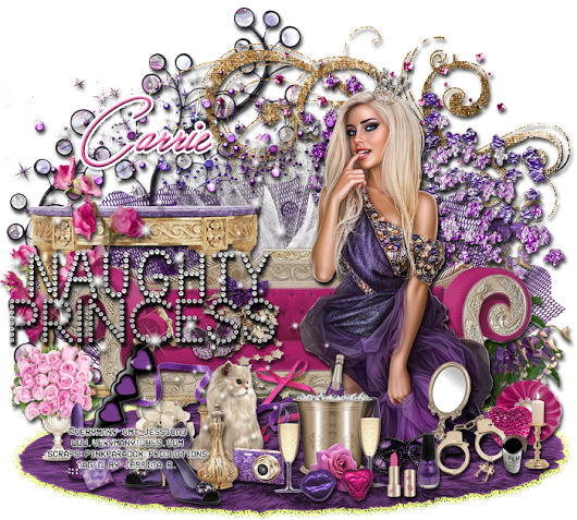 "***CT Tags for PinkParadox Productions***   ""Naughty Princess """