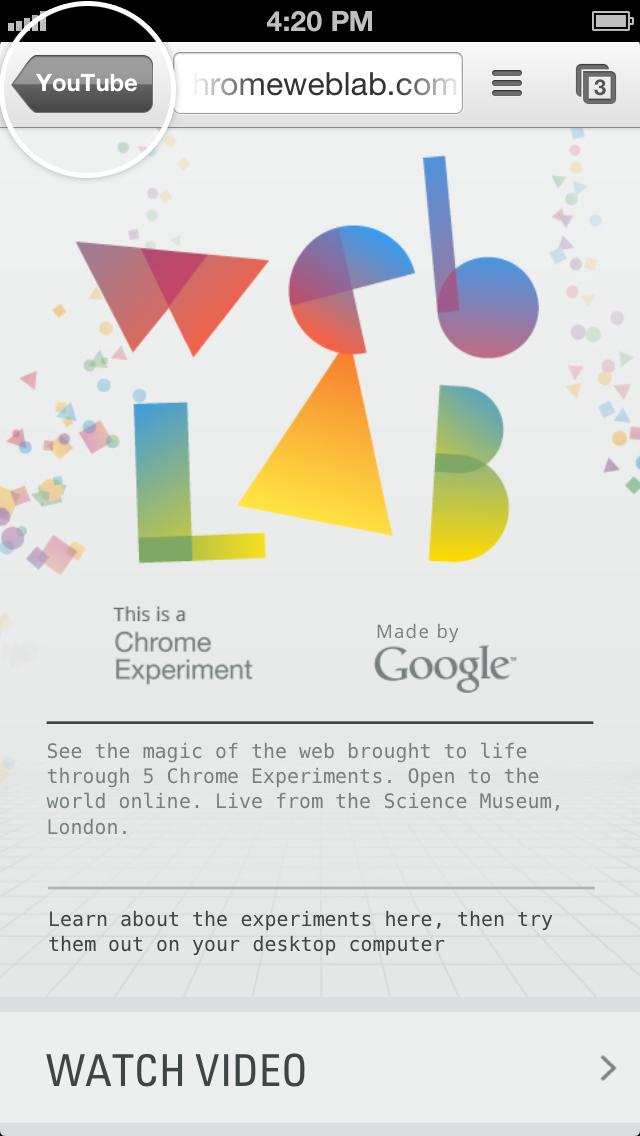 Chromium Blog: Integrate Chrome with your iOS app