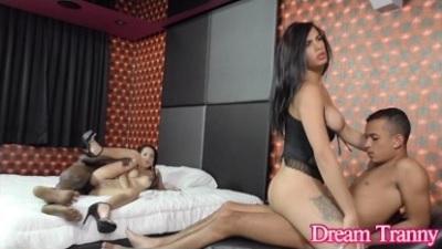Dreamtranny – Estela Duarte In A BiSex Foursome