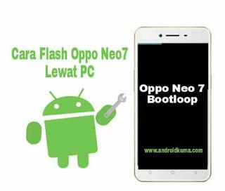 Cara Flash Oppo Neo 7 yang bootloop