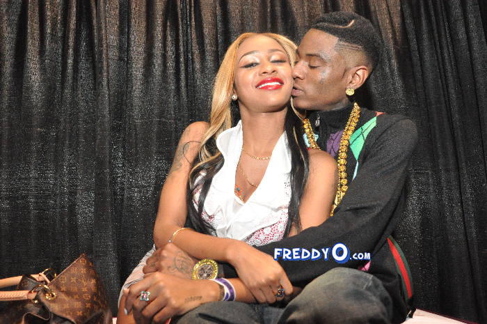 Is rapper diamond dating soulja boy