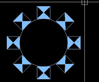 polar array autocad