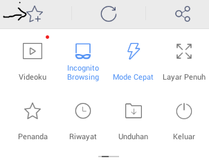 Cara membuat shortcut blog di android