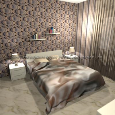 Consigli d 39 arredo la camera da letto in stile vintage for Carta da parati camera