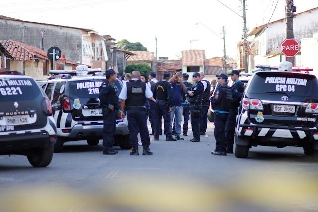 Presos três suspeitos de matar PMs em Fortaleza; quarto suspeito foi morto durante abordagem