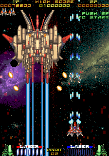 RayForce arcade game