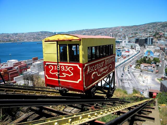 Bondinhos, Valparaíso