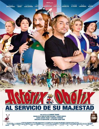 Ver Astérix y Obélix: Al servicio de su majestad (2012) Online