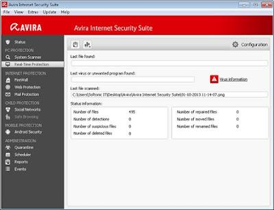 Avira Internet Security 2016 Computer Software