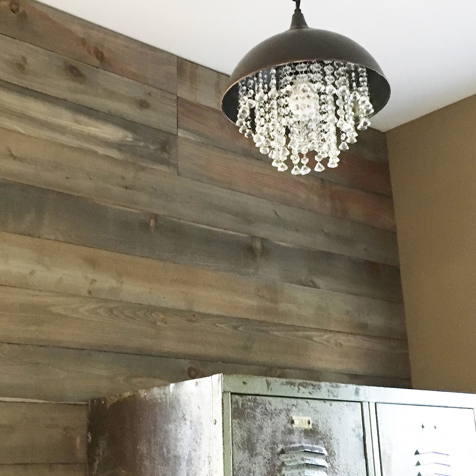 Diy Almost Barnwood Wall