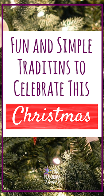 9 Fun and Simple Traditions to Celebrate During the Christmas Holiday. #traditions #Christmas #faith