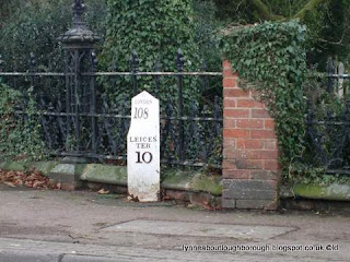 Milestone Leicester Road Loughborough