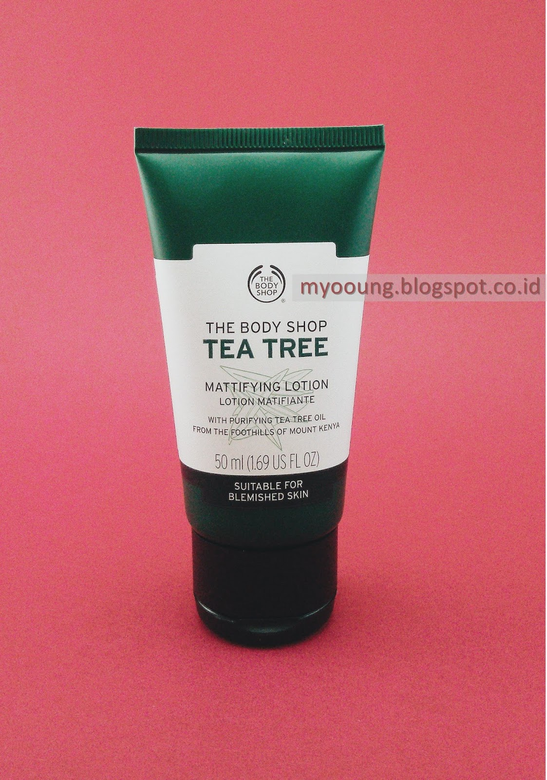 Review The Body Shop Tea Tree - Mattifying Lotion - Myooung