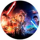 Oblea para tartas Star Wars