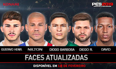 PES 2019 Facepack BR 2019 by Lucas Facemaker