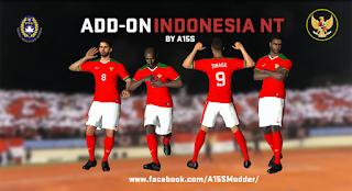 Add On Timnas Indonesia untuk PTE Patch 3.0 dan 3.1