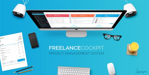 Freelance Cockpit 3.3.1 - Project Management and CRM - nulled