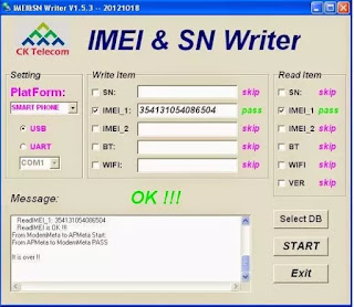IMEI & SN Writer Tool V1.5.3 Free Download