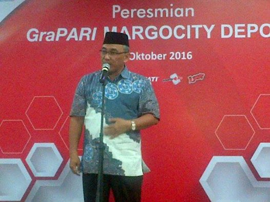 Walikota Resmikan Grapari Telkomsel Margo City