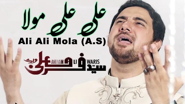 ALI ALI MOLA - FARHAN ALI WARIS - New Exclusive MANQABAT   Download 720p
