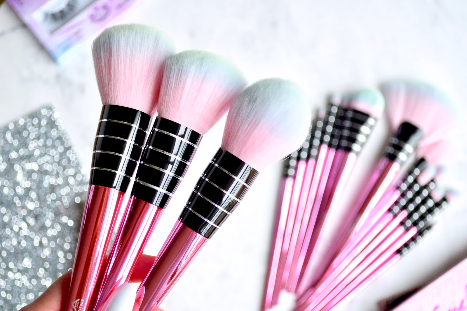 Girls With Attitude Flamingal Makeup Brush Collection